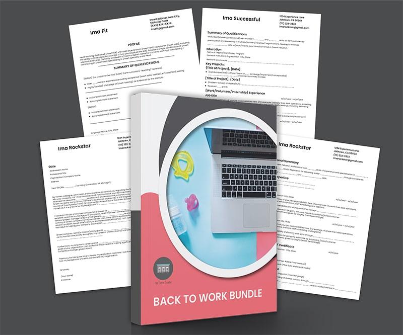 Back to Work Bundle: Make Your Resume Shine