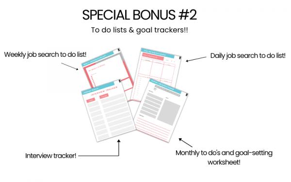 Find a job fast starter guide for moms bonus number two